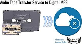 Audio Tape, DAT, and Reel-to-Reel, Digitization and Transfer Service to Digital MP3 and CD by Lotus Media
