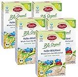 Töpfer Bio-Hafer-Milchbrei mit Apfel und Vanille, 5er Pack (5 x 200g)