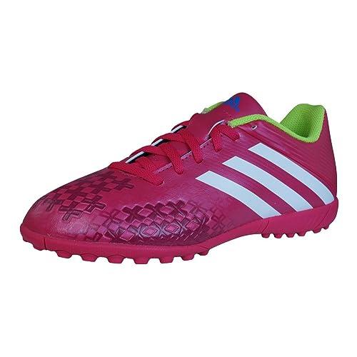 the best attitude bf455 e686b adidas Predito LZ TRX TF J Boys Football Trainers   Boots-Red-5