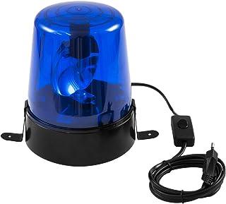 EUROLITE LED politie DE-1 blauw | klassiek decoratief effect met LED-lampen