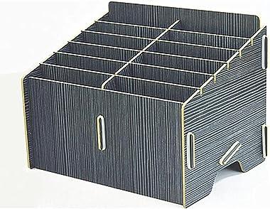 Storage Chests Mobile Phone Storage Box Desktop Mobile Phone Storage Box Creative Multi-Compartment Storage Rack Storage Stor