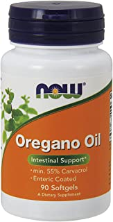 """Now Foods Oregano Oil Enteric Coated Softgels 90 Capsules (Pack of 2)"""