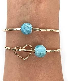 caribbean gold bangles