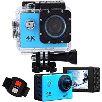 V1 4K Sport Cam VR Action Camera 16MP WiFi Vedio DVR CAR Display Waterproof dp
