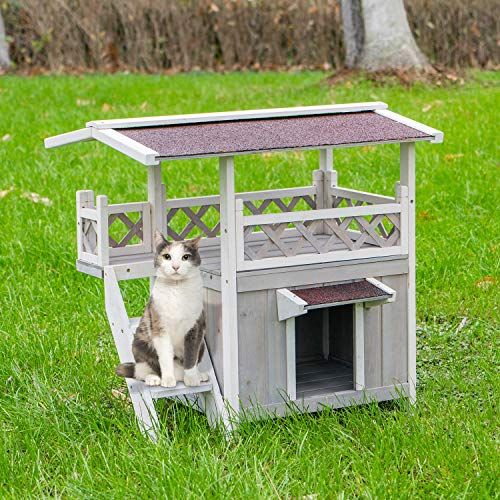 Top 5 Best Outdoor Cat Tree Houses 2021 Review Guide