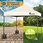 SUNMER 3x3M Pop-Up Gazebo - Fully Waterproof with Heavy Duty Steel Frame - Wheeled Bag Included for Easy Transportation…
