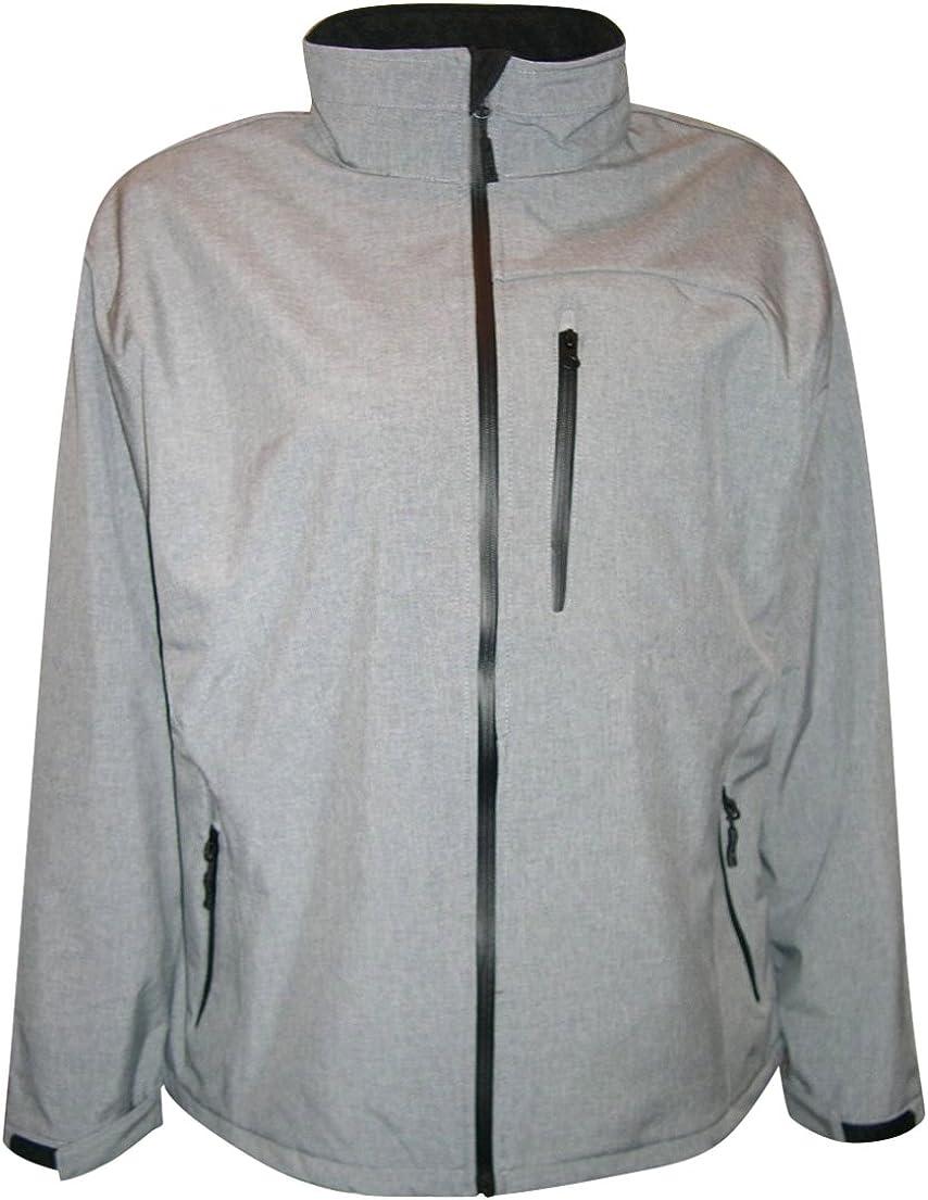 Pulse Mens Big Sizes Soft Shell Waterproof Jacket