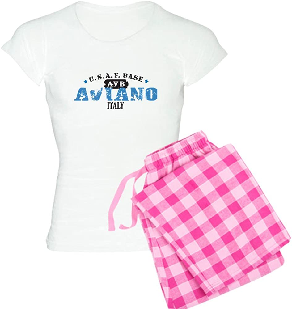 CafePress Aviano 2021 model Air Force Base Save money Women's PJs