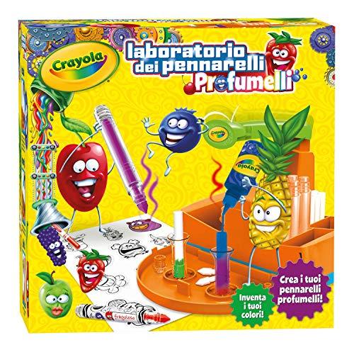 Crayola 25#7240#Laboratorio de rotuladores profumelli (versión en italiano)