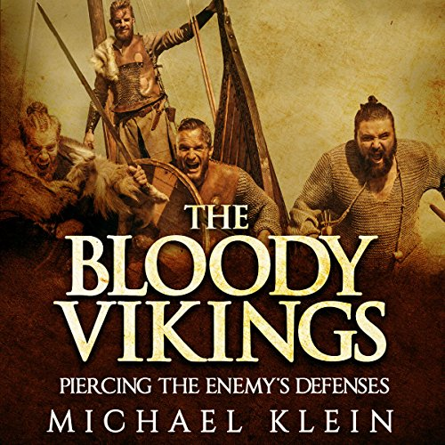 The Bloody Vikings audiobook cover art