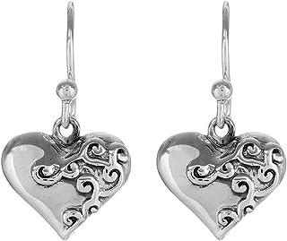 Fourseven Jewelry Pure 925 Sterling Silver Long Hook Dangler Earrings for Women and Girls
