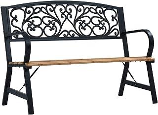Panchina Giardino Tavolino Pop-up Panchina da Esterno 158cm Massello Acacia Marrone Festnight