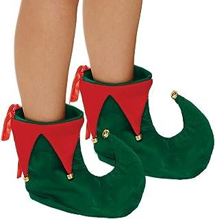 Desconocido Zapatos Adultos Elfo de Navidad de Lujo