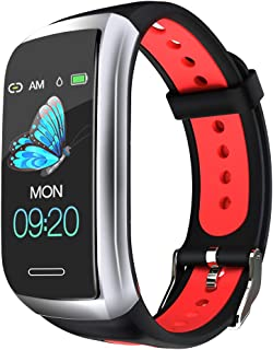 Yunss Fitness Trackers HR Activity Trackers Health Exercise Watch with Heart Rate and Sleep Monitor, Smart Band Calorie Counter, Step Counter,Smart Bracelet Men Women and Kids 2019 New