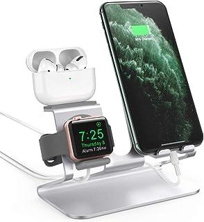 AhaStyle 3 in 1 Charging Stand Dock Aluminum Desktop...