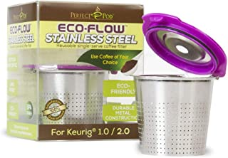 Perfect Pod ECO-Flow Stainless Steel Reusable Coffee Pod Metal Filter