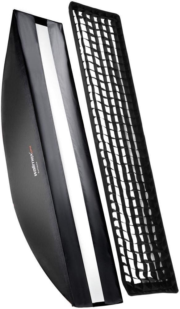 Walimex Pro Softbox Plus Orange Line 40x180 Cm Für Kamera