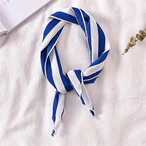 Sabigzi Multifunctionele kleine sjaals van zijde voor afzuigkap, driehoek, herfstdecoratie, handdoek, kleine sjaal