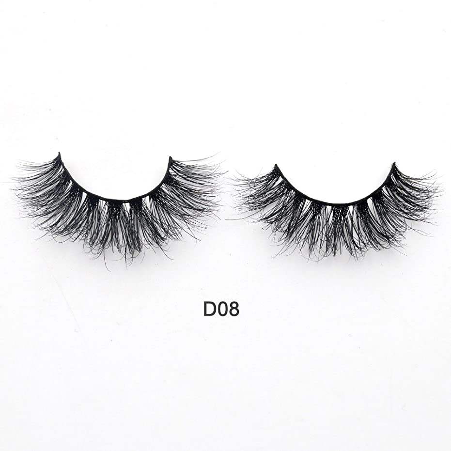 香ばしい旅行代理店報奨金(D08) Visofree Eyelashes 3D Mink Lashes Luxury Hand Made Mink Eyelashes Medium Volume Cruelty Free Mink False Eyelashes Upper Lashes