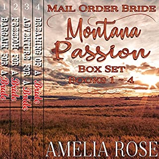 Mail Order Bride     Montana Passion Brides, 4 Book Box Set              By:                                                                                                                                 Amelia Rose                               Narrated by:                                                                                                                                 Charles D. Baker                      Length: 16 hrs and 12 mins     46 ratings     Overall 4.5