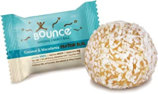 (2 PACK) - Bounce Coconut & Macadamia-Protein Bliss-Energy Balls| 40 x 12 gx |2 PACK - SUPER SAVER - SAVE MONEY