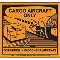 Labelmaster L20R Cargo Aircraft Only Label Paper (Pack of 500) [並行輸入品]