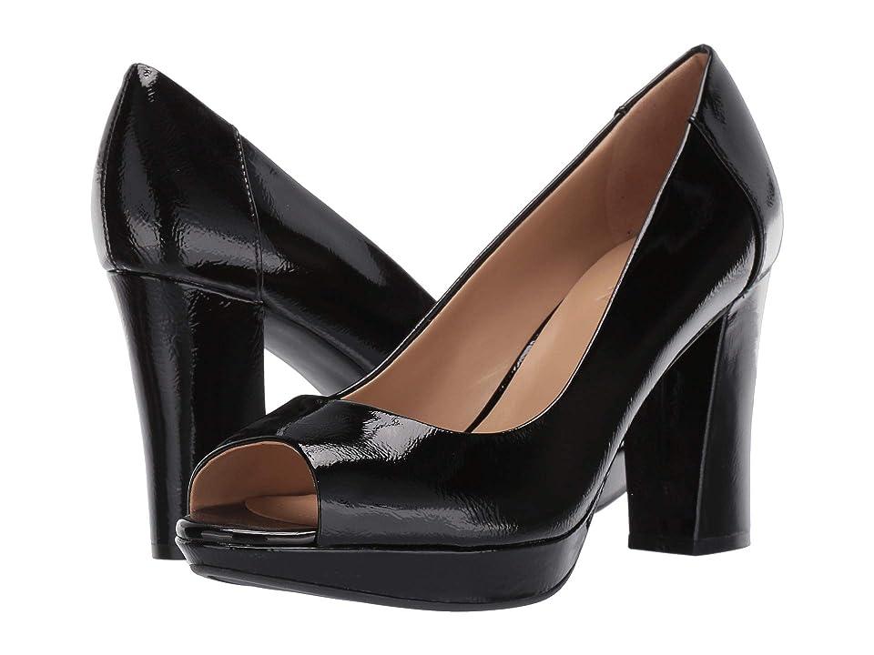 Naturalizer Amie (Black Patent Leather) Women