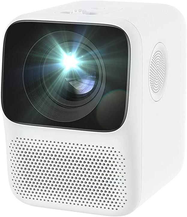 Videoproiettore proiettore display 4k full hd 720-1080p, con 5000 lumen e 30000 ore di durata della lampada 682-371-246