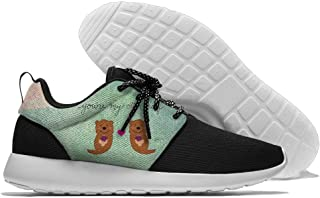 You are My Otter Half Men's Comfortable Running Shoes Fashion Sneakers Casual Sports Shoes Lightweight Breathable