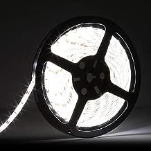 LEDMO tiras led 12V Blanco 6000K 300led 5m tira led exterior SMD5630 6000LM IP65 Impermeable CRI80 cinta led