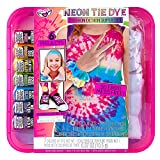 Fashion Angels Tie Dye Super Set- DIY Tie Dye Kit for Kids, All-in-One Complete Tie Dye Set with Latex Gloves, Rubber Bands, Non Toxic Dyes & 6 Projects, Just Add Water, Recommended for Ages 8 and Up
