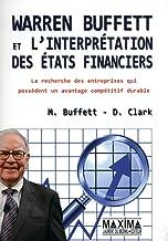 Livres WARREN BUFFETT ET L'INTERPRETATION DES ETATS FINANCIERS PDF