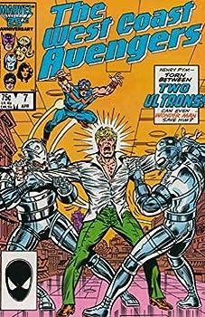 Comic West Coast Avengers #7 Book