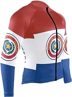 Mens Cycling Jersey Shirt Armenian Flag Long Sleeve Bike Jersey Riding Tops