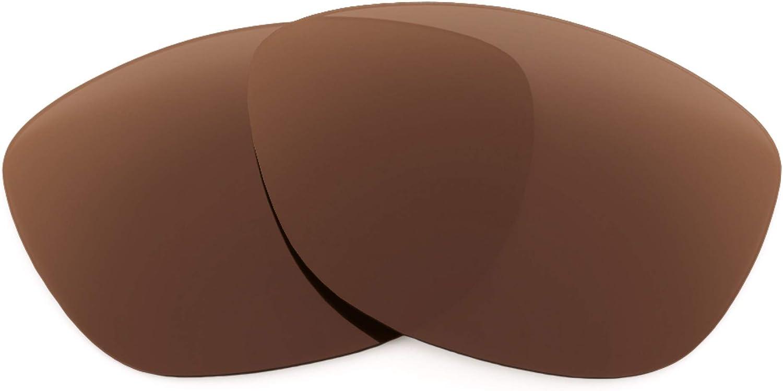 Revant Verres de Rechange pour Oakley Jupiter - Compatibles avec les Lunettes de Soleil Oakley Jupiter Marron Foncé - Non Polarisés