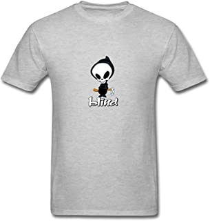 XIULUAN Men's Make Your Own Blind Melon Skull T-Shirt