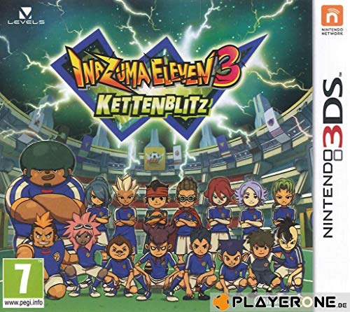 3DS Inazuma Eleven 3: Cadena flash (PEGI)