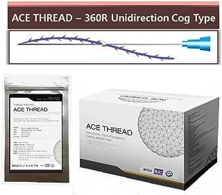 ACE PDO thread lift - 360R Unidirection 23G38 (20pcs)