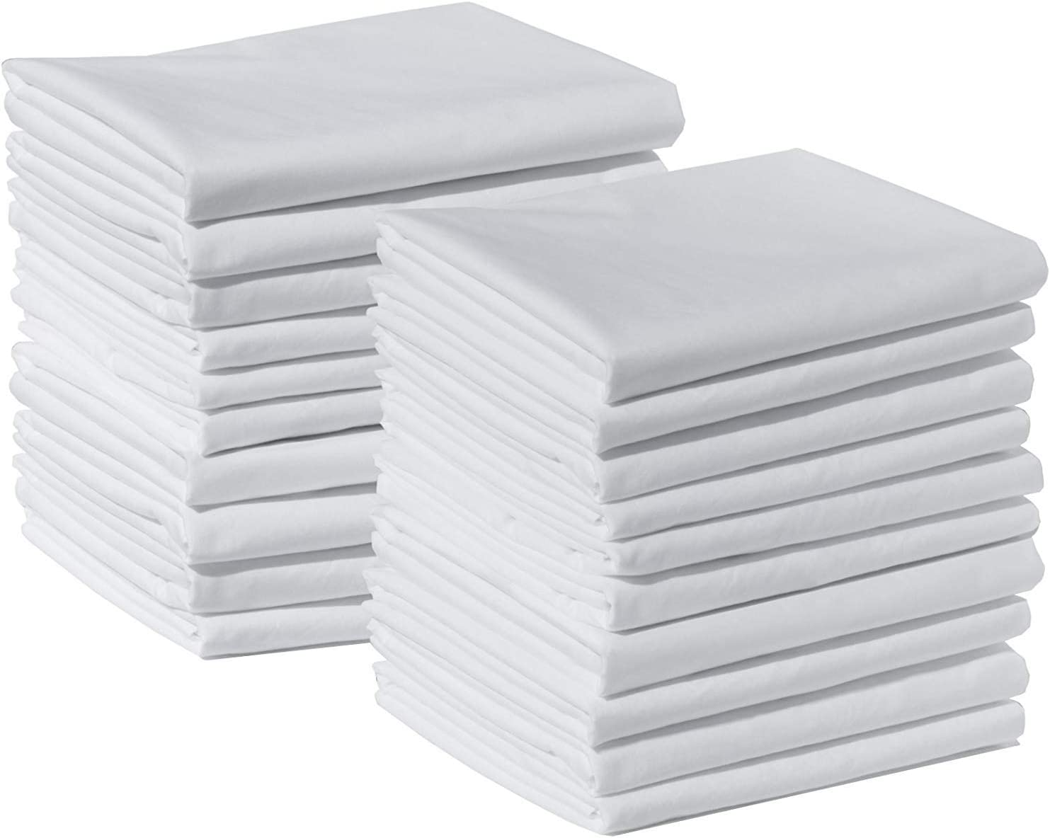 120 Standard Pillowcases 100% Long security Cotton Staple Sate Some reservation Egyptian