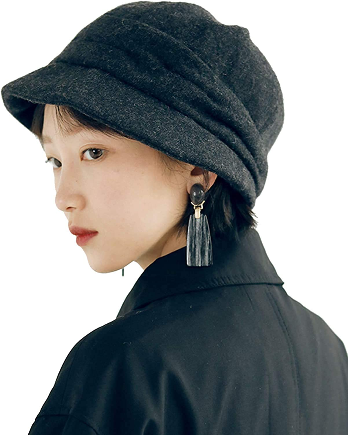 DRIONO Fleece-Lined Women Hat Style Ranking TOP14 Cabbie Cloche Newsboy Beret Max 43% OFF