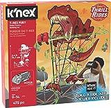 K'Nex 27152 Thrill Rides, T-Rex Fury Juego de construcción de montaña Rusa, Juguete de construcción de Realidad Virtual a Partir de 9 años, 478 Piezas