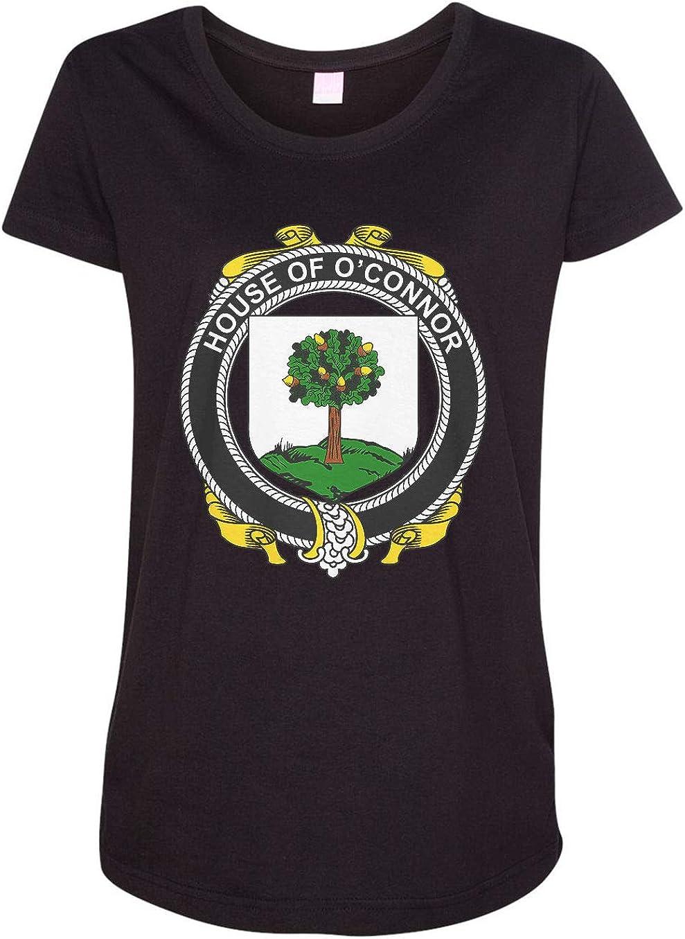HARD EDGE DESIGN Women's Irish House Heraldry O'Connor (Faly) T-Shirt