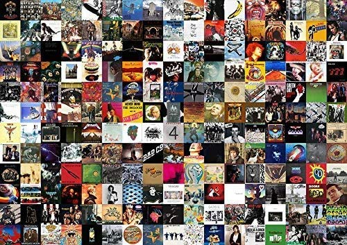 Greatest Rock Album di All Time Jigsaw Puzzle 1000 Pezzi per