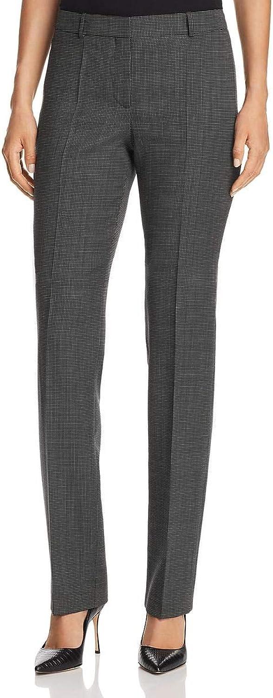 Hugo Boss Womens Tameas5 Wool Blend Career Wear Dress Pants