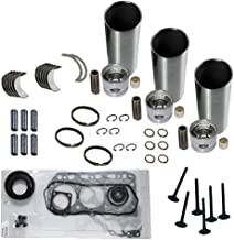 Rebuild Kit for Yanmar 3TNE78A Engine FE-240 FT250 VIO27-2 F210H F-7H F-21EX