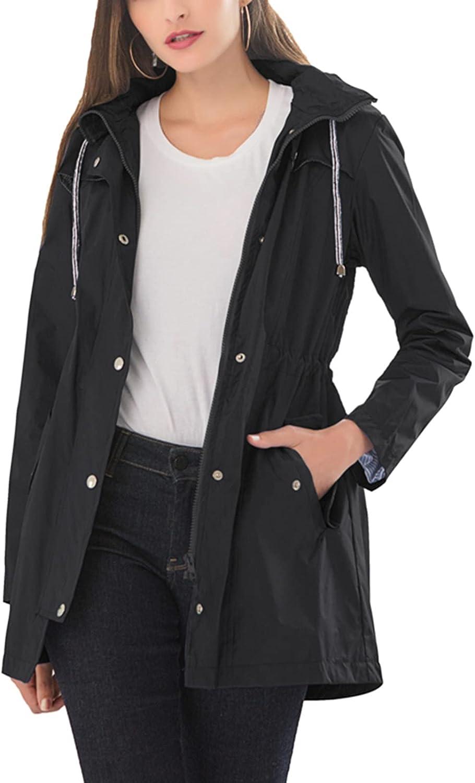 Womens Long Overseas parallel import regular item Sleeve Raincoat Waterproof Japan's largest assortment Active Trench Coat Outdoo