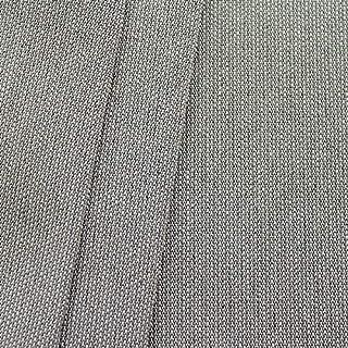 STOFFKONTOR Markisenstoff Outdoorstoff Fineliner 2 Breite 160 cm Meterware Dunkel-Grau