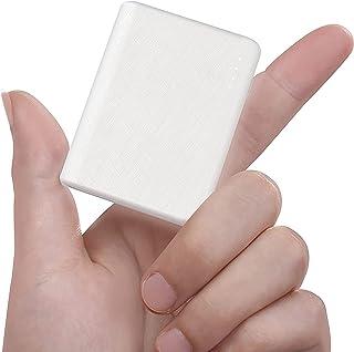 Bärbar 10 000 mAh USB-C kraftbank, externt batteri med 12 W USB C ingång/utgång (10 000 vit)