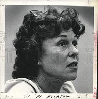 Historic Images - 1980 Press Photo Actress Bess Myerson