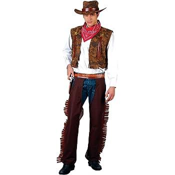 Wild - Disfraz de vaquero del oeste para hombre, talla L (EM-3038 ...